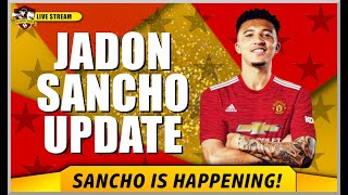 Jadon Sancho to Manchester United is happening✅ Man United Transfer News