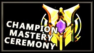 Champion Mastery Ceremony Visuals - League of Legends