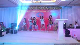 Wiggle Wiggle Dance Cover By EDM Dance Crew live