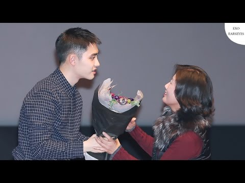 [ENG/THAI] Chanyeol's Mom Surprised Kyungsoo on 'Hyung' Stage Greeting
