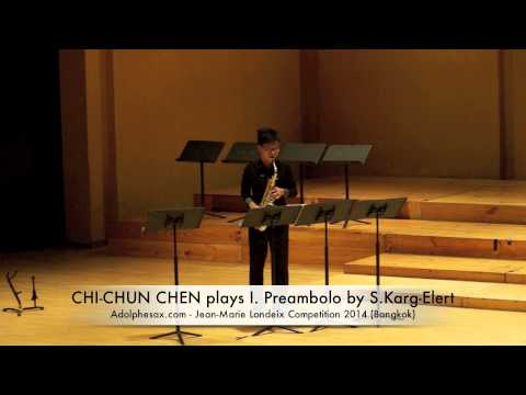 CHI CHUN CHEN plays I Preambolo by S Karg Elert