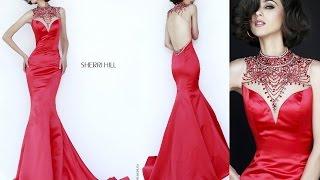 Эксклюзивные красные вечерние платья