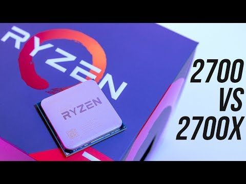 video Amd Ryzen 7 2700