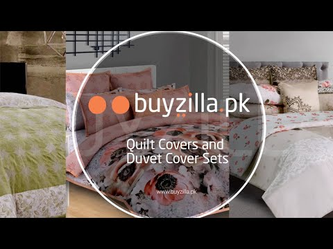 Bedding Sets - Quilt Cover and Duvet Cover Sets - BuyZilla.pk