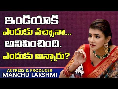 Manchu Lakshmi explains why she spoke against Disha encounter