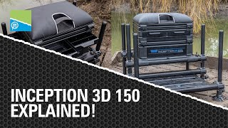 A thumbnail for the match fishing video Need More Space? The Preston Innovations INCEPTION 3D 150 Seatbox explained!