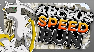 How Fast Can You Beat Pokemon Platinum With Only a Arceus?! (no items, speedrun)