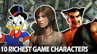 10 Richest Game Characters