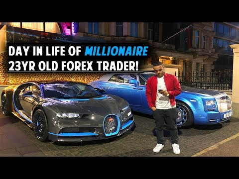 Day In Life Of 23yr Old Millionaire Forex Day Trader!