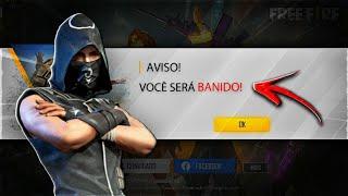NÃO FAÇA ISSO NO FREE FIRE OU VOCÊ SERÁ BANIDO!