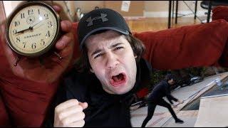 EPIC ALARM CLOCK PRANK!! (freakout)