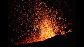 Explosive Eruption of Fissure 17- Summer 2018 Kilauea Volcano