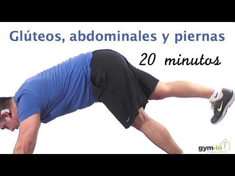 Rutina completa de glúteos, abdominales y piernas