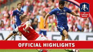 Arsenal 2-1 Chelsea - Emirates FA Cup Final 2016/17 | Official Highlights