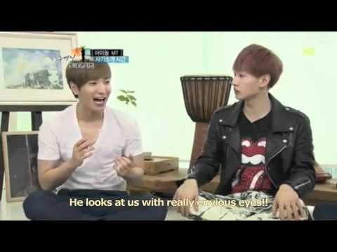 120503 Talk Show - HoMin and ChangKyu talk cut (ENG SUB)