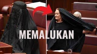 Anti-Islam Member of Australian Senate slammed for burqa 'stunt' in Parliament