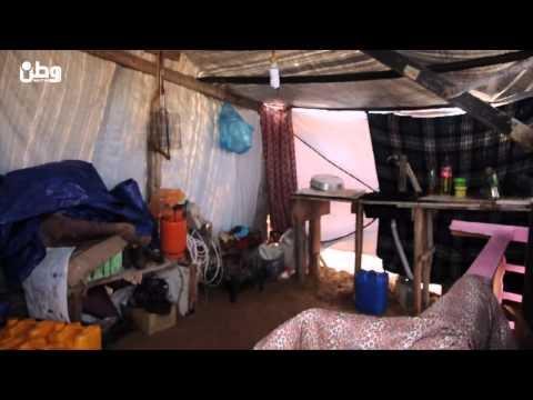 الطفلة رُبى للعالم: أنتم تعيشون في بيوت ونحن في خم زينكو