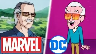 All Animated Stan Lee Cameos in Marvel & DC (R.I.P. 1922-2018)
