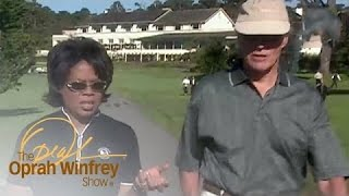 Oprah Loses Her Cool While Golfing with Clint Eastwood | The Oprah Winfrey Show | OWN