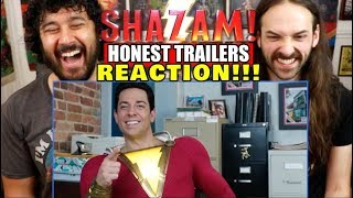Honest Trailers | SHAZAM! - REACTION!!!