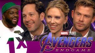 Scarlett Johansson, Chris Hemsworth & Paul Rudd Break Down the Avengers Group Chat (with DJ Ace)