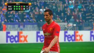 Anderlecht vs Manchester United   PES 2017 Penalty Shootout