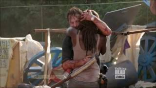 Talking Dead - Danai Gurira on Michonne thinking Rick died