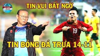 Tin Bóng Đá 14/11: HLV Park Hang seo và Quang Hải bất ngờ nhận tin vui trước trận gặp UAE