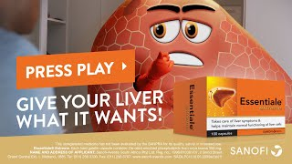 Essentiale Extreme ® - Giving the liver a voice #GiveTheLiverWhatItWants