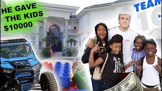 TOOK THE KID'S TO JAKE PAUL'S HOUSE!! ($10,000 PRANK ON KIDS)