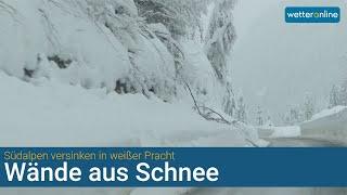 Schnee, Schnee, Schnee - ohne Worte! (10.12.2020)