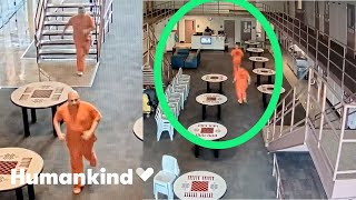 Inmates rush from cells to save deputy's life | Humankind