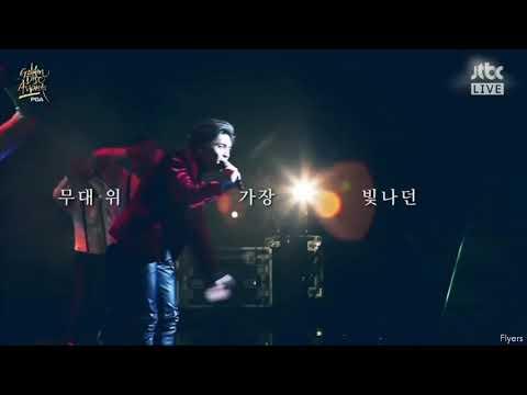 180111 Shinee Jonghyun tribute Golden Disk Award - Key, Taeyeon and EXO message in description