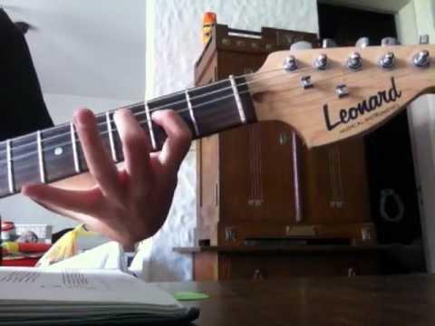 Los simpson en guitarra muy facil