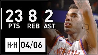 Marquese Chriss Full Highlights Pelicans vs Suns (2018.04.06) - 23 Pts, 8 Reb, 2 Ast!