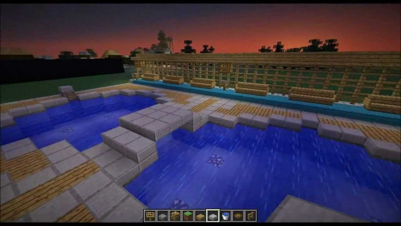 Minecraft Home Design Ep 32 Tips For Swimming Pools
