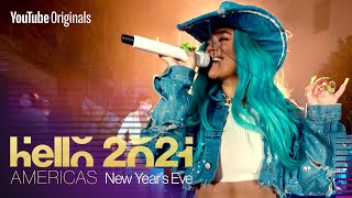 Karol G New Year's Eve Performance | Hello 2021: Americas