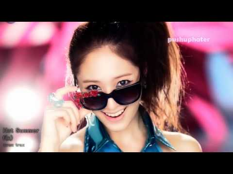 f(x) Hot Summer Korean Japanese music video mix