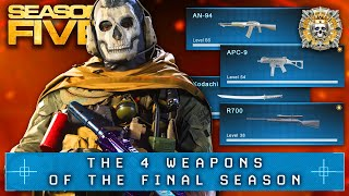 Modern Warfare: 4 NEW WEAPONS Coming In SEASON 5! (FINAL SEASON?)