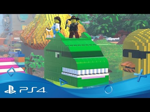 LEGO Worlds | Launch Trailer | PS4