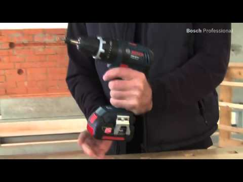 Bosch GSB18V-LI 18V Combi Drill 2 x 3.0Ah Batteries charger + carry case