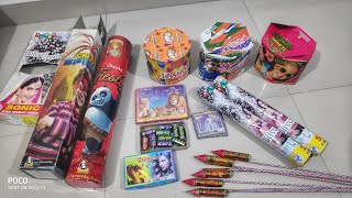 Testing new firework diwali stash 2019 different types of firecrackers||CY