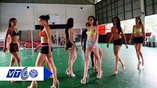 Thăm lò đào tạo Hoa hậu đất Cảng | VTC