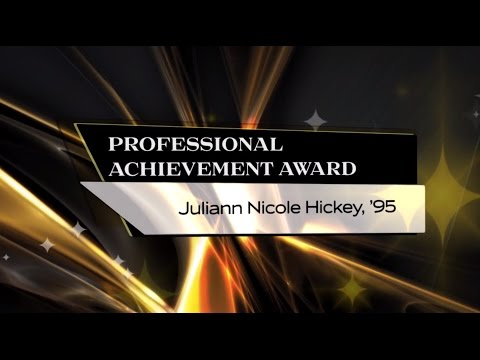 Juliann Hickey, '95 - 2015 UCF Professional Achievement Award Winner - CAH