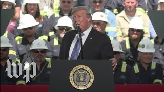 Trump speaks in Louisiana