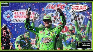 Recap: Kyle Busch rallies for 200th NASCAR victory