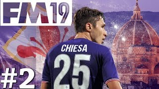 Football Manager 2019 | Fiorentina Live Let's Play | Episode 2