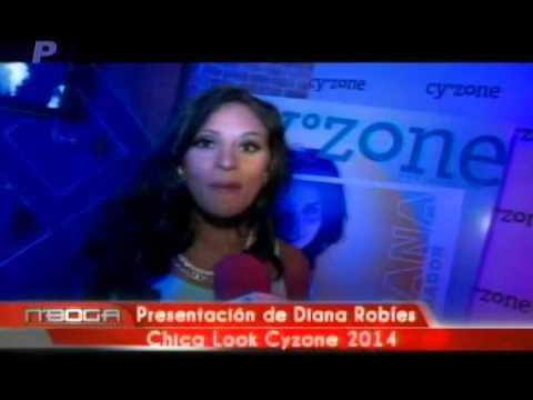 Presentación de Diana Robles Chica Look Cyzone 2014