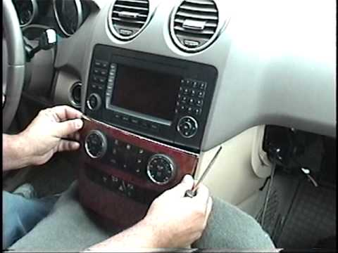 How To Remove Radio Navigation From 2005 Mercedes Benz