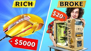 Rich Gamer vs Broke Gamer